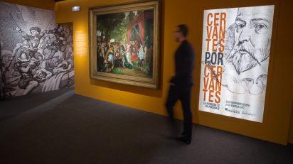 Exposición 'Cervantes por Cervantes. La invención de un personaje'.