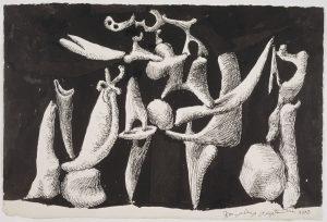 Pablo Picasso, La Crucifixion, 1932. Paris, Musée Picasso. (C) RMN-GRand Palais, Béatrice Hatala.