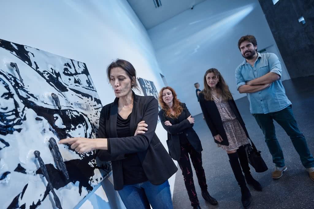 Exposición 'Amparo Sard. Luz. La sombra del tiempo'.