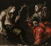 Antonio del Castillo. Santa María Magdalena y Santa Catalina.