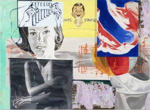 David Salle. Odes and Aires, 2014.