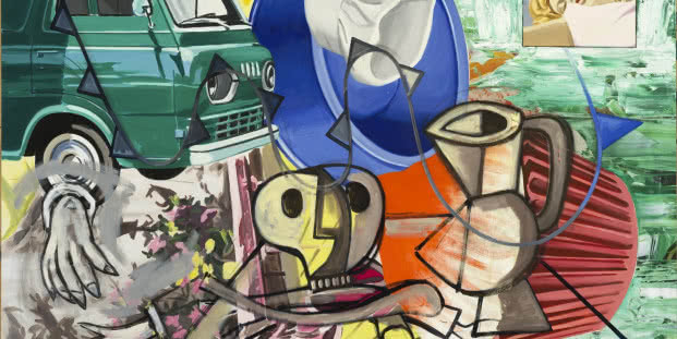 David Salle. This is the Fun, 2014-2015.