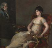 Francisco de Goya. La marquesa de Villafranca pintando a su marido, 1804.