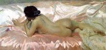 Joaquín Sorolla. Desnudo de mujer, 1902. Colección particular.