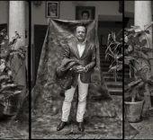 Juan Manuel Diaz Burgos. Diego de Miranda. Patio de la casa del caballero del verde gabán. Villanueva de los Infantes, 2016.