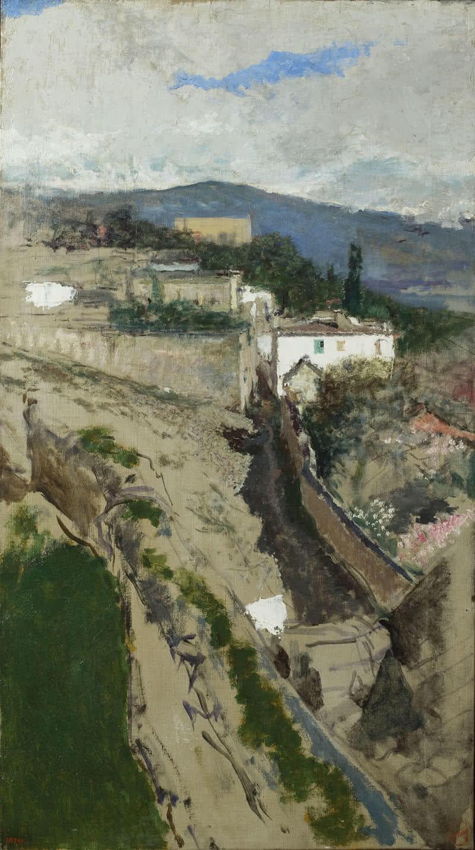 Mariano Fortuny, Paisatge de Granada. Museu Nacional d'Art de Catalunya.