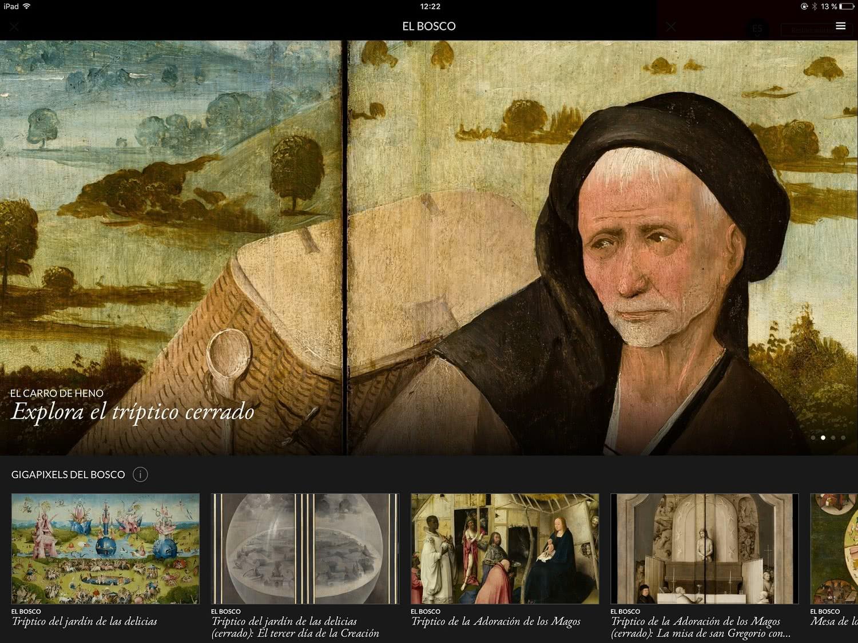 Second Canvas Museo del Prado - Bosco.