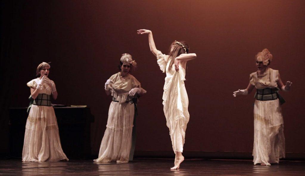 Una historia de la danza. Transfórmate. Foto: Jesús Robisco.