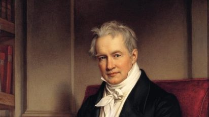Joseph Karl Stieler, Retrato de Alexander von Humboldt, 1843.