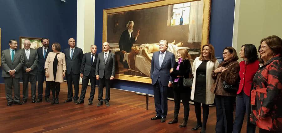 El ministro de Educación, Cultura y Deporte, Íñigo Méndez de Vigo, ha inaugurado, junto a la presidenta de la Junta de Andalucía, Susana Díaz, el nuevo Museo de Málaga.
