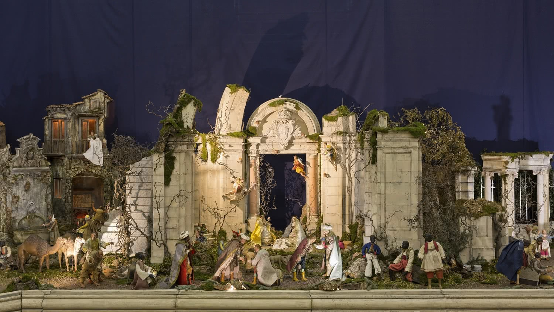 Resultado de imagen de belen napolitano palacio real