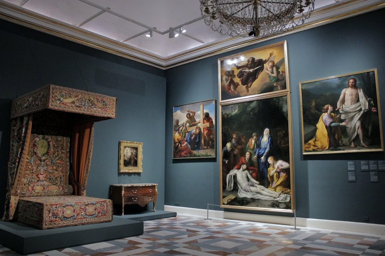 Exposición 'Carlos III. Majestad y Ornato en los escenarios del Rey Ilustrado'. Foto: Sonia Aguilera.