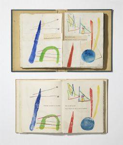 Imágenes del libro À toute épreuve, (1948-1958), Joan Miró. Foto: Gasull.