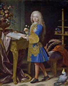 Jean Ranc. Carlos III, niño. Hacia 1724.