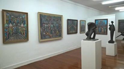 Exposición Manuel Pesqueira. Terra e vangarda. Galería José Lorenzo.