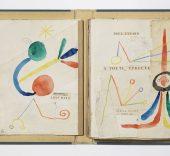 Maqueta del libro À toute épreuve, (1948-1958), Joan Miró. Foto: Gasull.