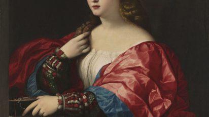 """Palma el Viejo. Retrato de una mujer joven llamada """"la Bella"""", c. 1518-20. Óleo sobre lienzo 95 x 80 cm. Museo Thyssen-Bornemisza, Madrid."""