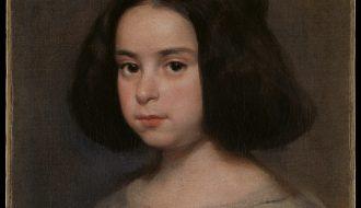 Diego Velázquez. Retrato de niña, ca. 1638-44.