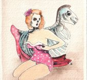 Anna Turina. Pin Up, Skull Duck, 2016.