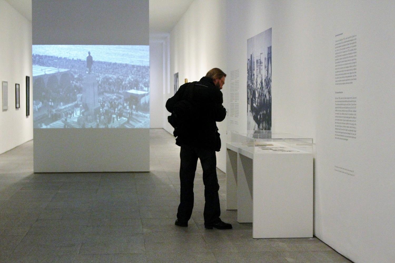 Exposición 'Art et Liberté. Ruptura, guerra y surrealismo en Egipto (1938-1948). Foto: Sonia Aguilera.