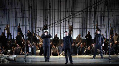 Thomas Oliemans (Mr. Redburn) / Toby Spence (Edward Fairfax Vere) / Fotos: © Javier del Real | Teatro Real.