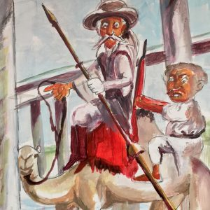 Don Quijote en el Río Níger.