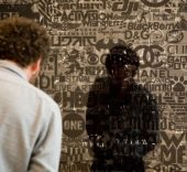 Exposición 'Cristina Lucas. Trading Transcendence', en el Mudam Luxembourg.