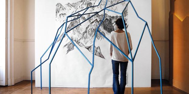 Françoise Vanneraud. Pensar como una montaña, 2016.