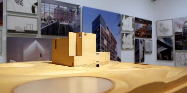 Exposición Rafael Moneo. Una reflexión teórica desde la profesión. Materiales de archivo (1961-2016). Museo Thyssen-Bornemisza. Foto: Luis Martín.