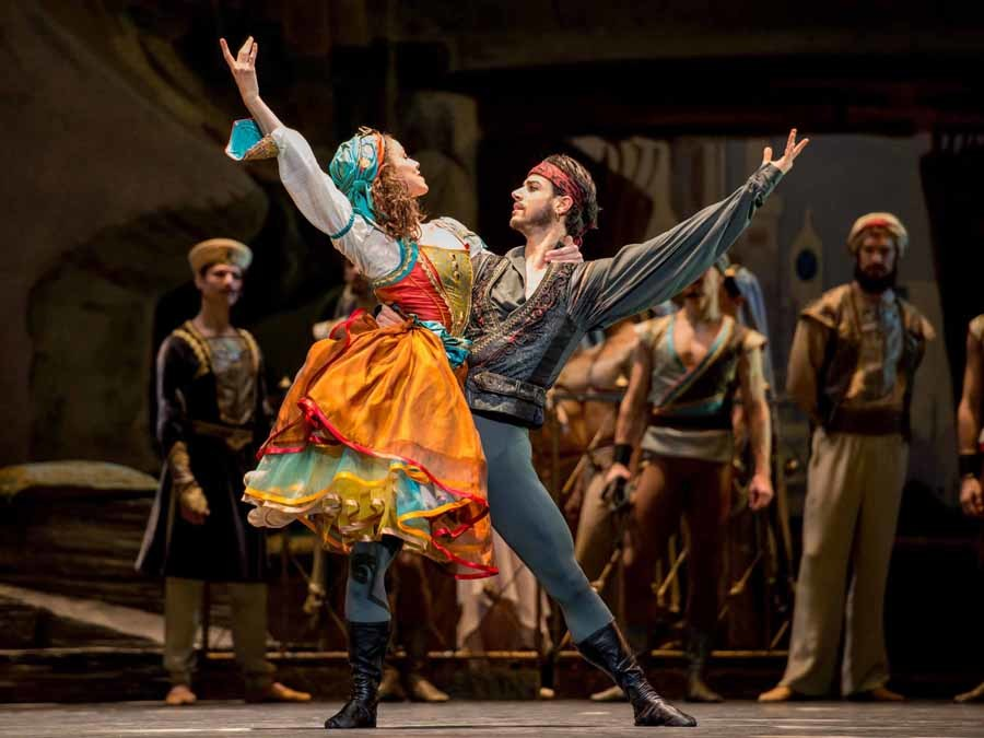 Le Corsaire. @Wierner Staatsballett. Ashley Taylor.