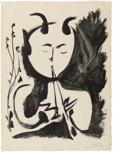 Pablo Ruiz Picasso. Fauno.