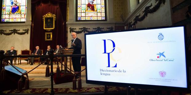 Presentacion digital Diccionario de la Lengua Española DLE
