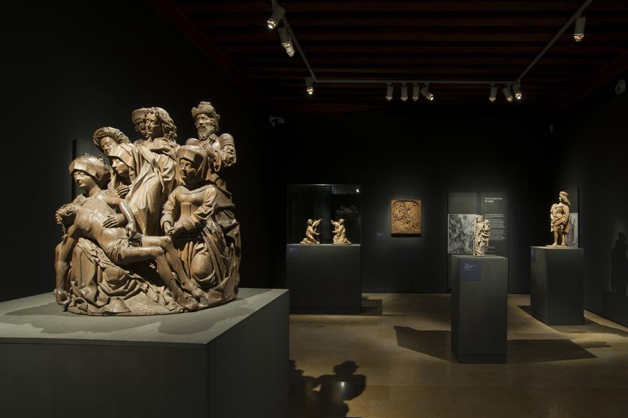Vista de la exposición 'Últimos fuegos góticos'.
