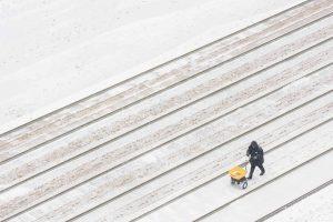 Cano Erhardt. 'Snow Lines', de la serie 'Snow in Manhattan'.