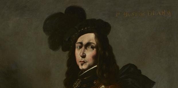 'El Infante P. Bustos de Lara' (detalle), hacia 1640-1645. Francisco de Zurbarán (Fuente de Cantos, Badajoz, 1598 – Madrid, 1664).