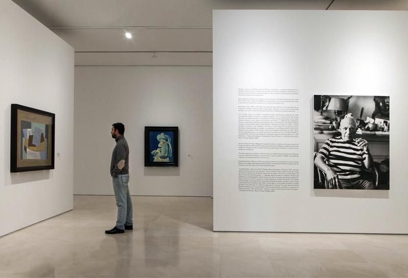 Exposicion '38 Picassos'. Museo Picasso Malaga. © MPM / jesusdominguez.com