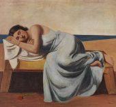 Pompeo Borra. Riposo [Descanso], 1933.