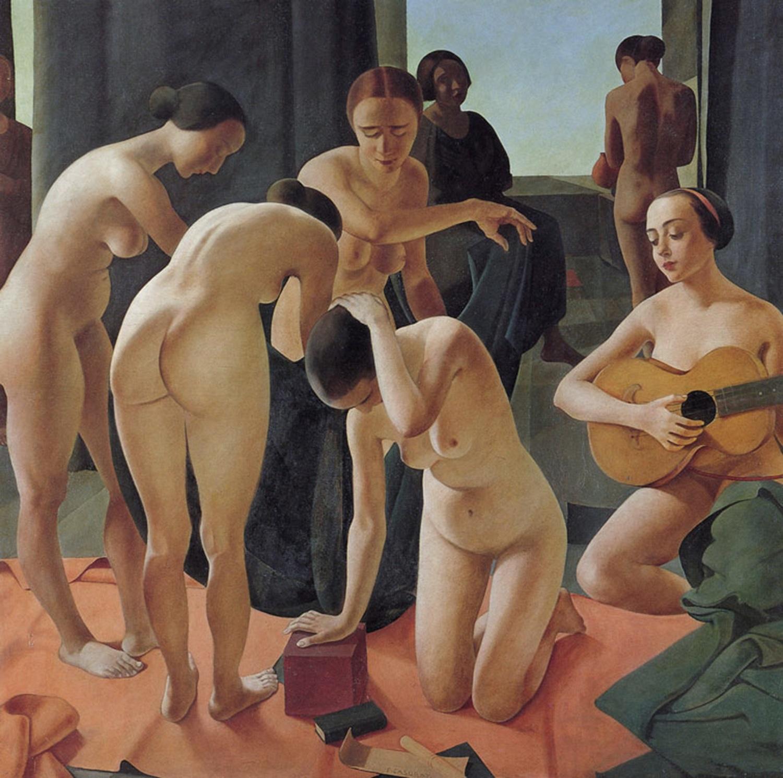 Felice Casorati. Concerto [Concierto], 1924.