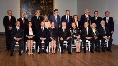 Mariano Rajoy preside el acto de imposición de las Grandes Cruces de la Orden Civil de Alfonso X el Sabio.