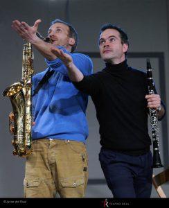 Martín Posegga (saxofón) / Miguel Pérez Iñesta (clarinete). Fotógrafo: © Javier del Real | Teatro Real.