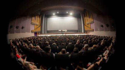 Cine Palafox durante el 17º Festival de Cine Alemán de Madrid.