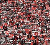 Cristina Lucas. Bicolor Rojo-Negro, 2016.
