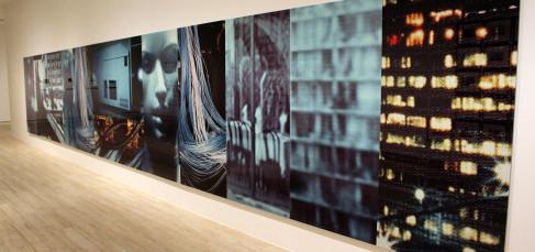 Exposición Lewis Baltz. Sala Bárbara de Braganza de Fundación MAPFRE. Foto: Luis Martín.