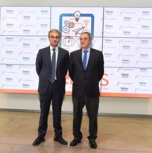 César Alierta, Presidente Ejecutivo de Fundación Telefónica, y Jose Manuel Lara García, Presidente de la Fundación José Manuel Lara