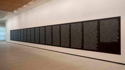 Superflex. Bankrupt Banks, August 23d. Exposición 'Punto de Partida'. Colección Isabel y Agustín Coppel. Foto: Fundación Banco Santander.
