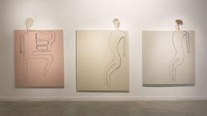 Juan Tessi. Coreo (Tríptico), 2015. Colección Alec Oxenford, Buenos Aires.