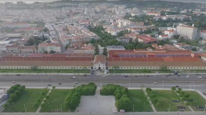 Edificio de la Cordoaria Nacional, sede de ARCOlisboa 2017.