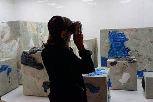 Elena Bajo, Premio Audemars Piguet en ARCOmadrid 2017.