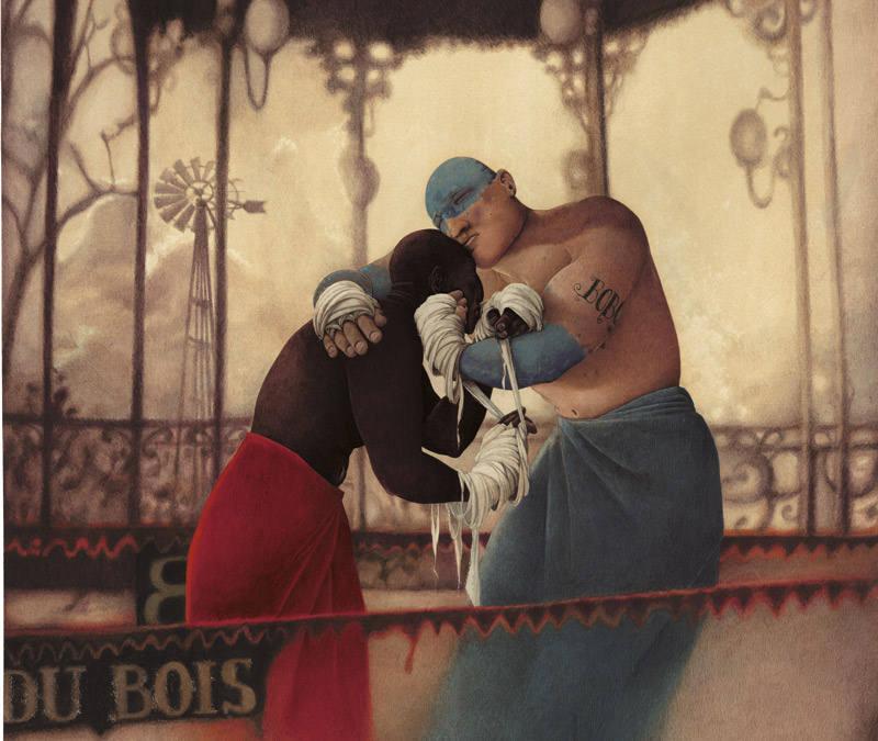 Rébecca Dautremer. 'El pueblo durmiente'. Foto: Editions Sarbacane.