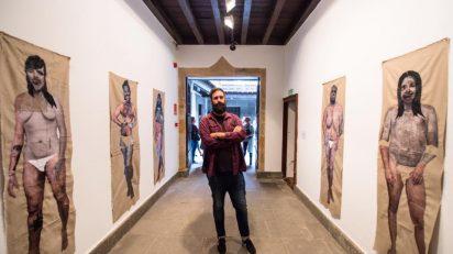 Dailos Ruiz (Fuerteventura, 1989) en la primera exposición del proyecto 'Espacio CV' del CAAM.